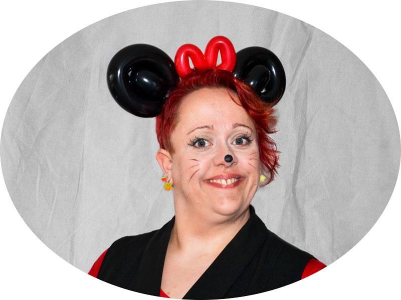 Minnie Maus kommt zu Deinem Kindergeburtstag