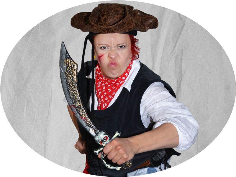 Hooray! Unseren Pirat kannst Du für Deine Feier buchen
